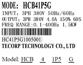 Tecorp_HCB_description